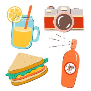 Iconos de picnic