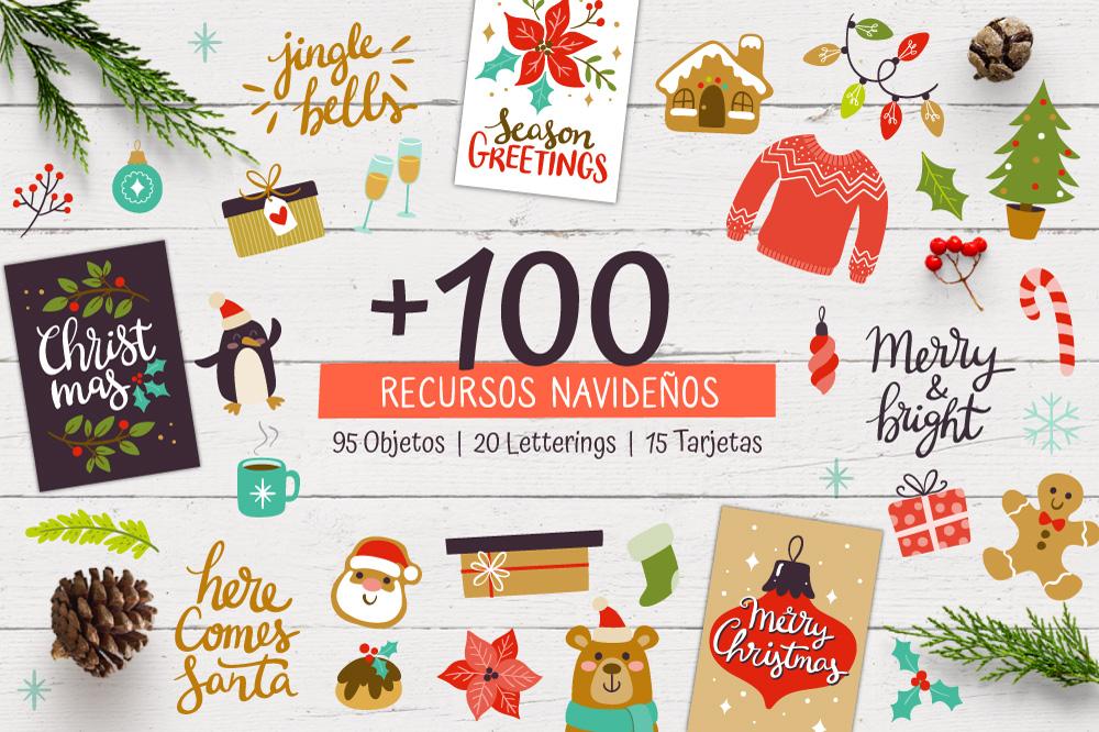 Portada Colección de Recursos para Navidad